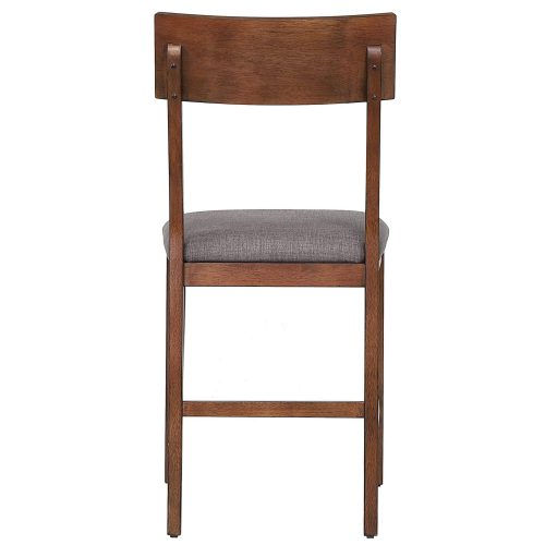 mid century dining collection - counter height bar stool - back view - DLU-MC-B45-2
