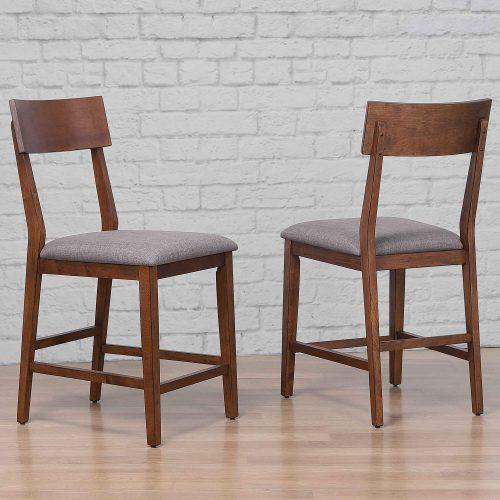mid century dining collection - counter height bar stool - room setting - DLU-MC-B45-2