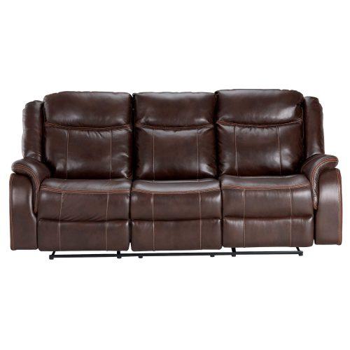 Avant Motion Sofa in Brown- Front view- SU-AV8604041-305