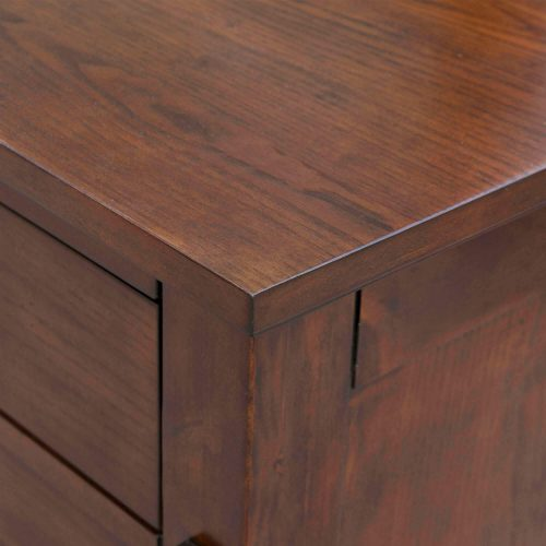 Mission Bay Collection - Dresser, chest, and nightstand corner detail - CF-4900