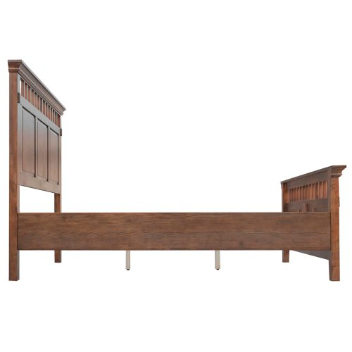 Mission Bay Collection-QueenKing Bed-side view-CF-4901-0877-QB