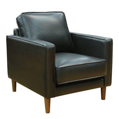 Prelude chair in black-angled view-SU-PR15070-80-100E