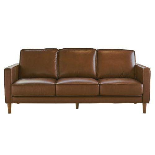 Prelude sofa in chestnut-front view-SU-PR15070-86-300E