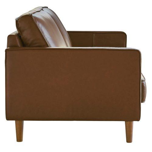 Prelude sofa in chestnut-side view-SU-PR15070-86-300E