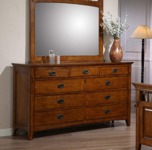 Tremont Collection - Dresser in room setting -SS-TR750-DR