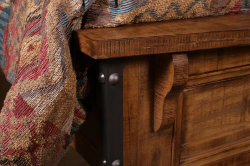 Rustic City Collection- Footboard detail-HH-4365