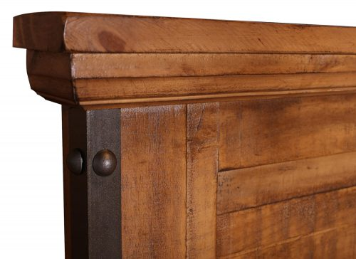 Rustic City Collection- Headboard detail-HH-4365