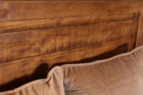 Rustic City Collection- Headboard plank wood detail-HH-4365