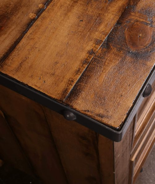 Rustic City Collection- Nightstand top detail-HH-4365-350