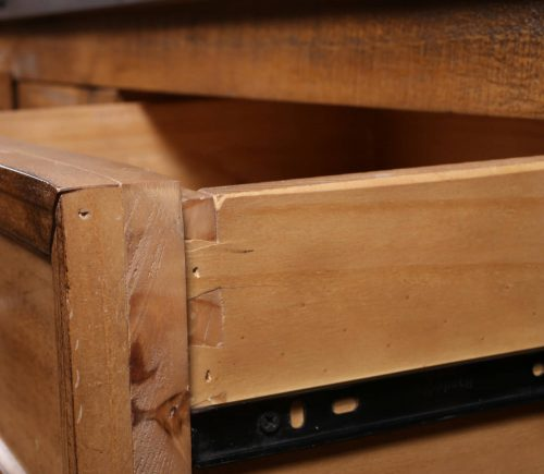Rustic City Collection- Drawer dovetail detail-HH-3365-065