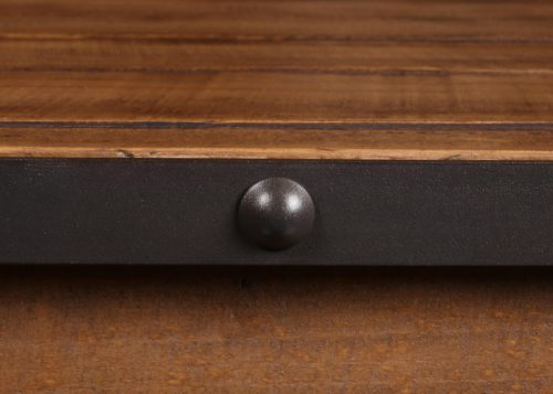 Rustic Dresser Mirror metal accent detail-HH-4365-31-32