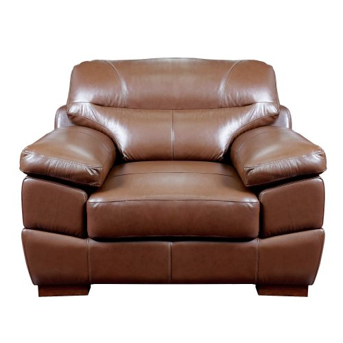 Jayson Chair in Chestnut - Front view-SU-JH86-101SP