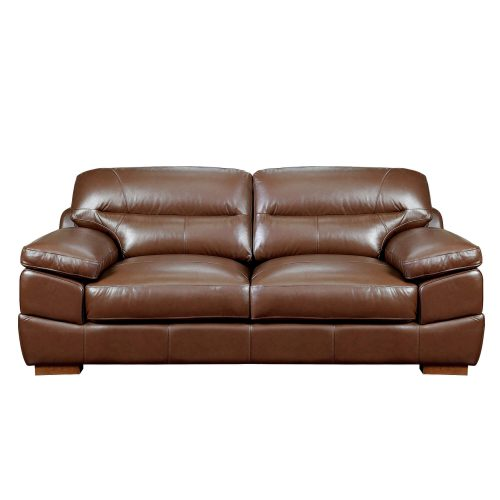 Jayson Sofa in Chestnut - Front view - SU-JH3786-301SPE