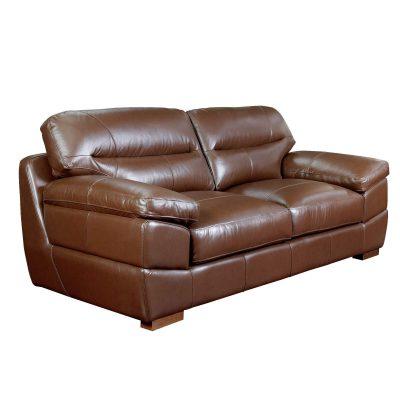 Jayson Sofa in Chestnut - Three quarter view - SU-JH3786-301SPE