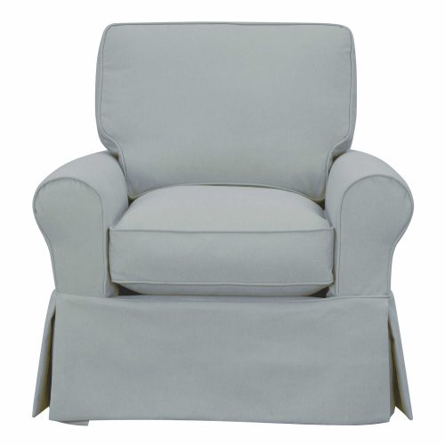 Horizon Collection - Swivel chair-front view-SU-114993-391043