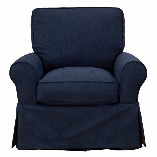Horizon Collection - Swivel chair-front view-SU-114993-391049