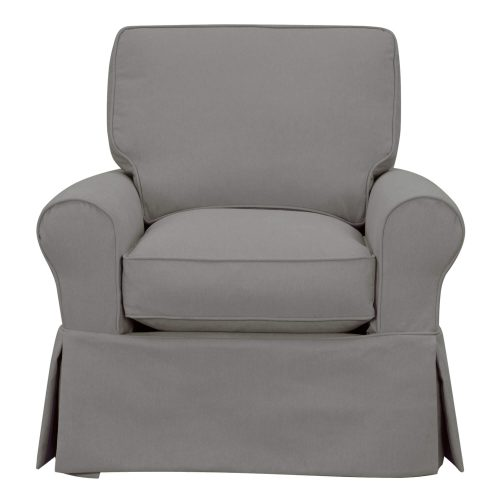 Horizon Collection - Swivel chair-front view-SU-114993-391094