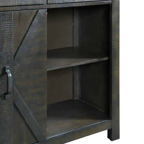Trestle Dining Collection-Server-cabinet detail-ED-SKSR