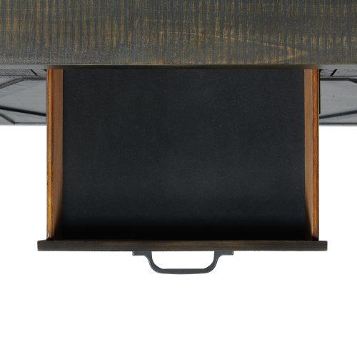 Trestle Dining Collection-Server-felt lined drawer detail-ED-SKSR