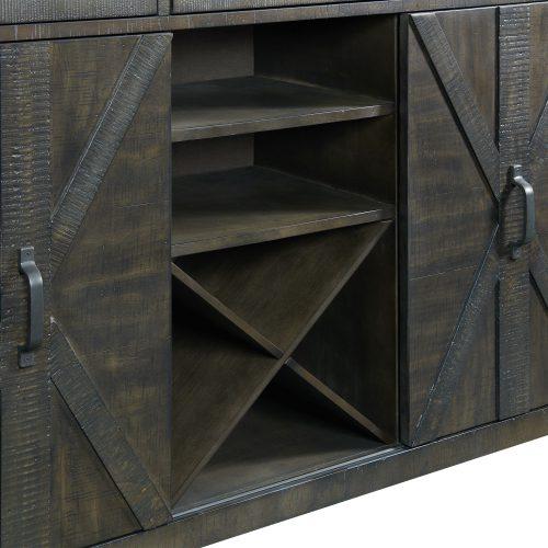 Trestle Dining Collection-Server-wine rack detail-ED-SKSR